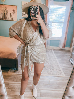 Ice Me Out Sequins Romper