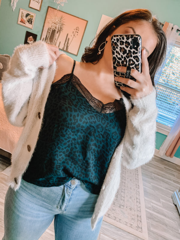 More Than That Leopard Cami Top