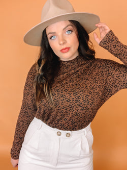 Nothing To Regret Leopard Top