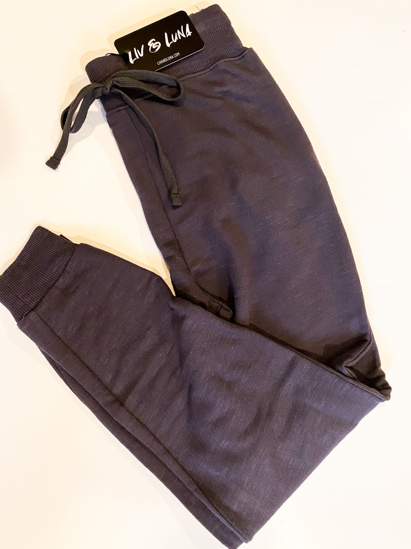 Some Nights Charcoal Joggers