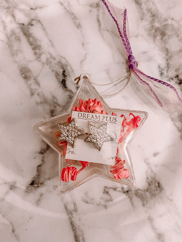 Star Earrings Ornament