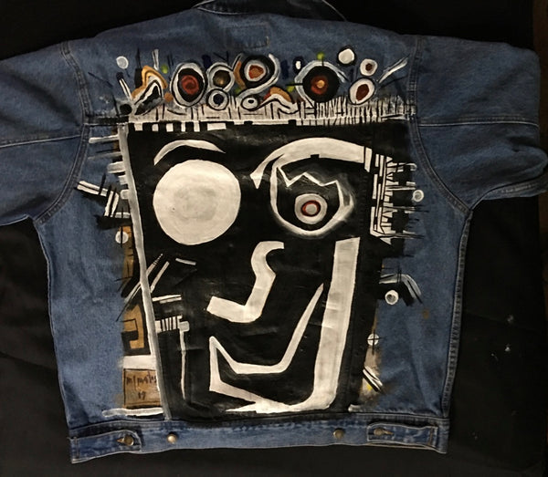Painted Denim Jacket #5