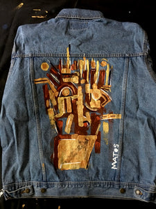 Painted Denim Jacket #2
