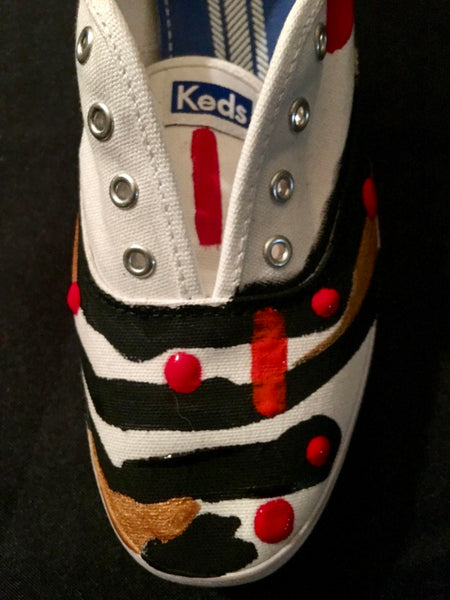 Painted Ladies Shoe