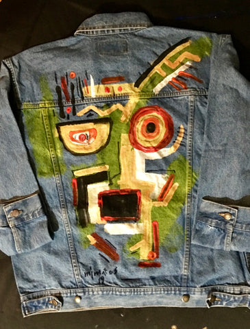 Painted Denim Jacket #6