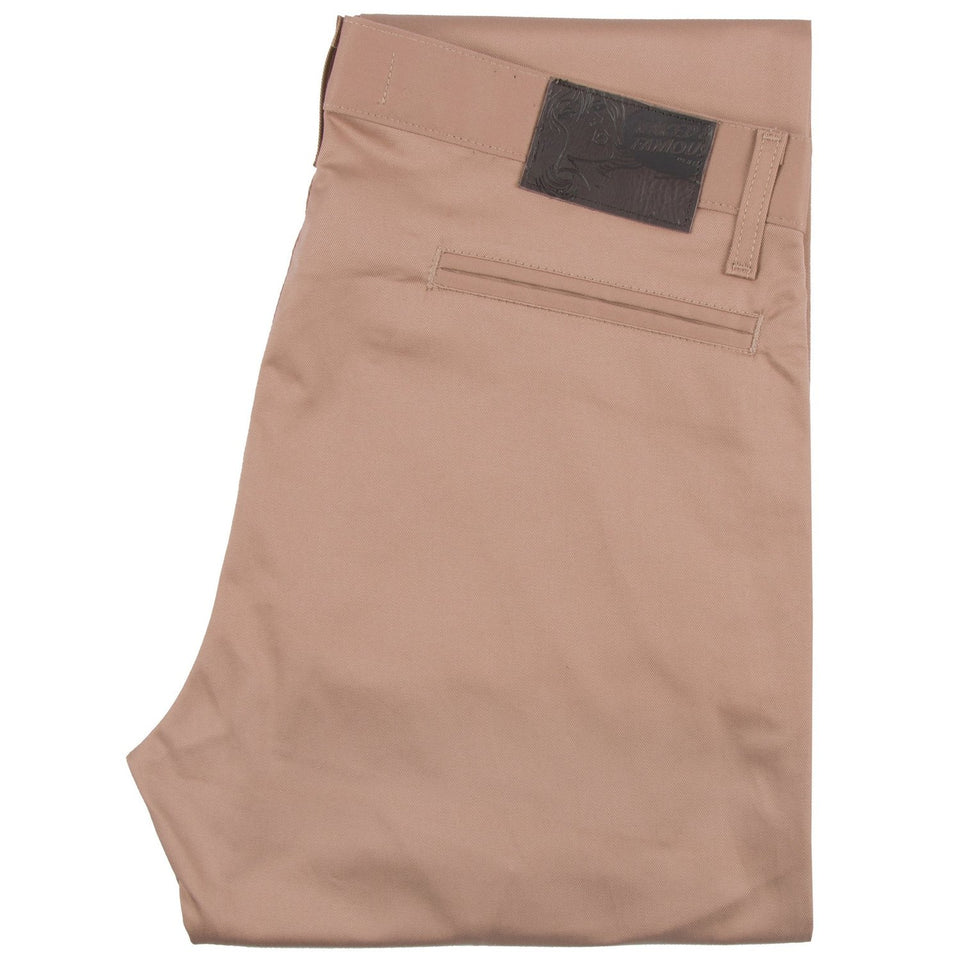 Slim Chino Stretch Twill Beige - marsclothing