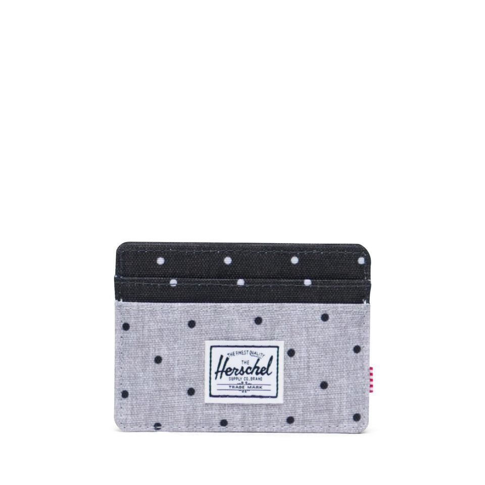 Charlie Polka Dot Grey Black Crosshatch - marsclothing