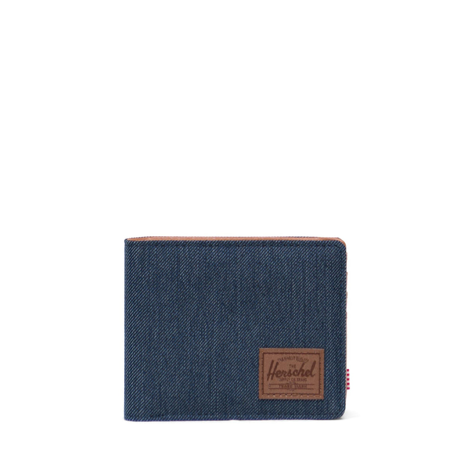 Hank Indigo Denim Crosshatch/Saddle Brown - marsclothing