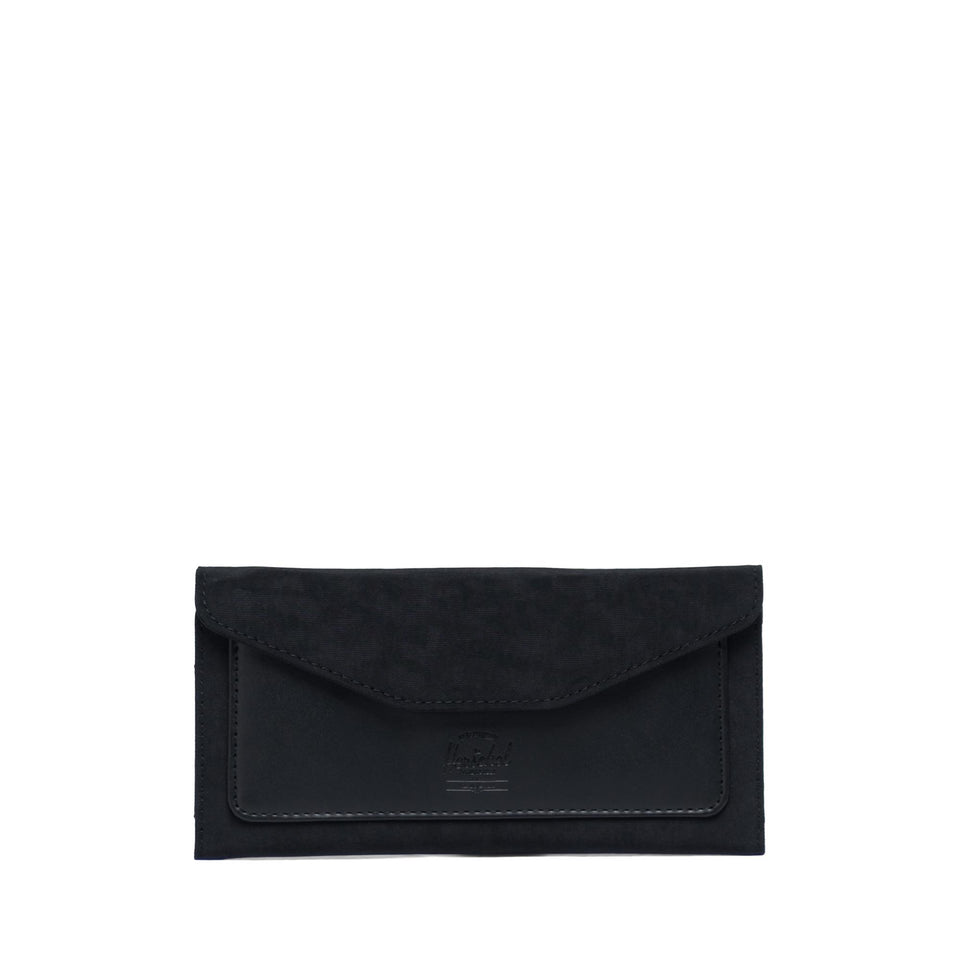 Orion Wallet Large Leather Black - marsclothing