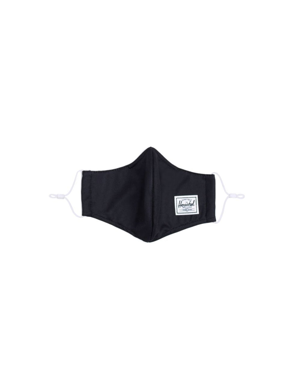 Classic Fitted Face Mask Black
