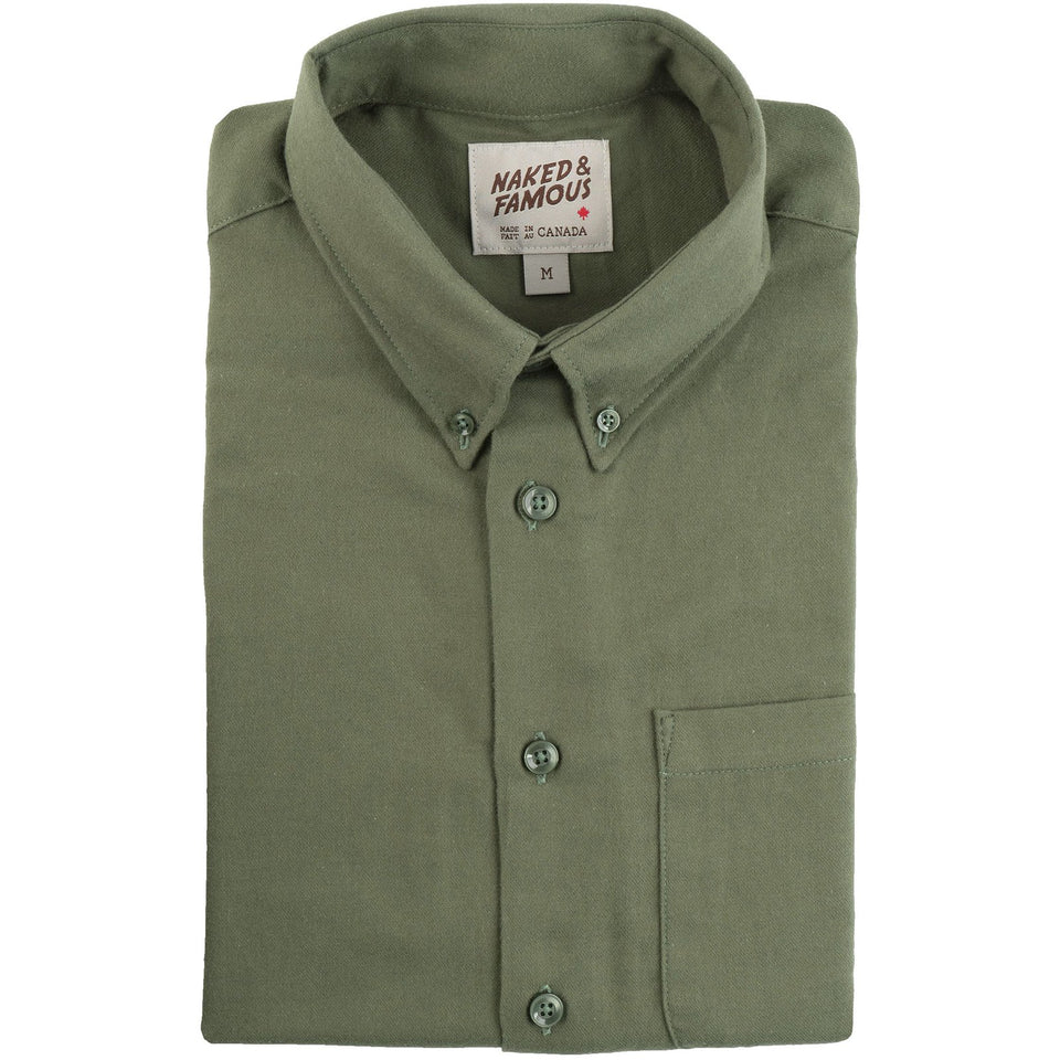 Easy Shirt Soft Twill Green