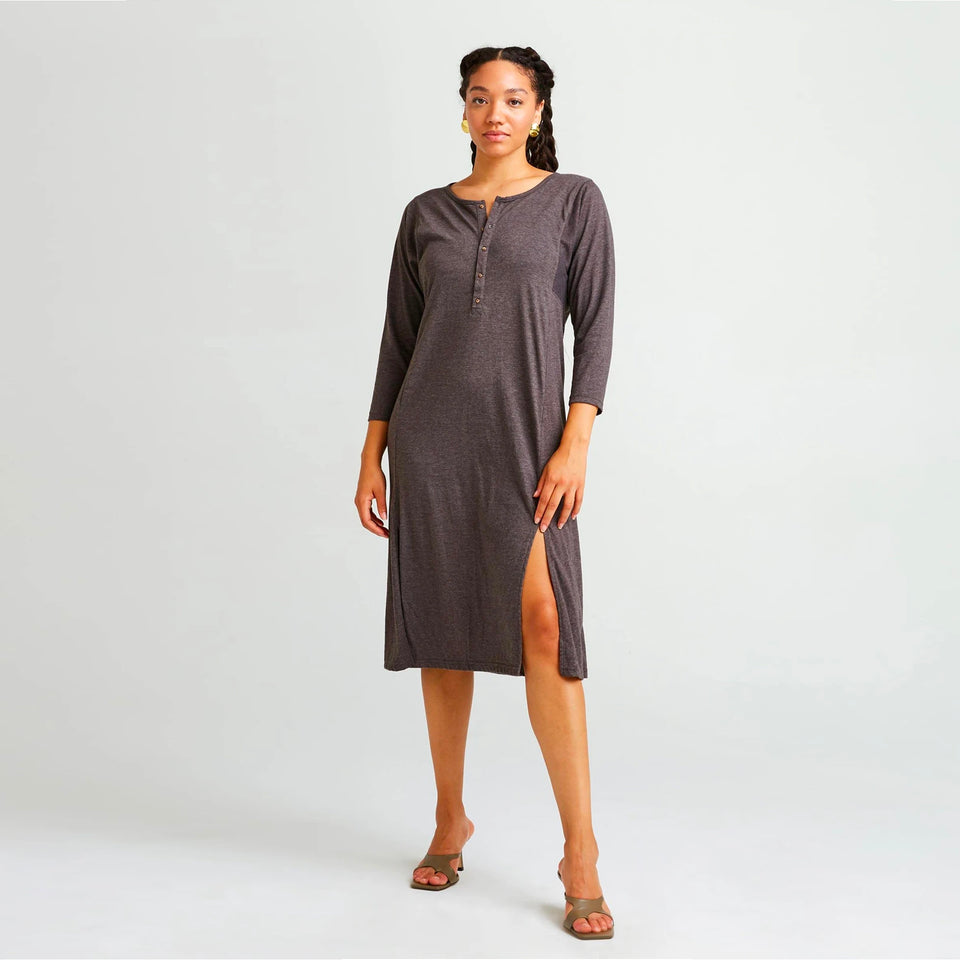 Henley Dress - marsclothing