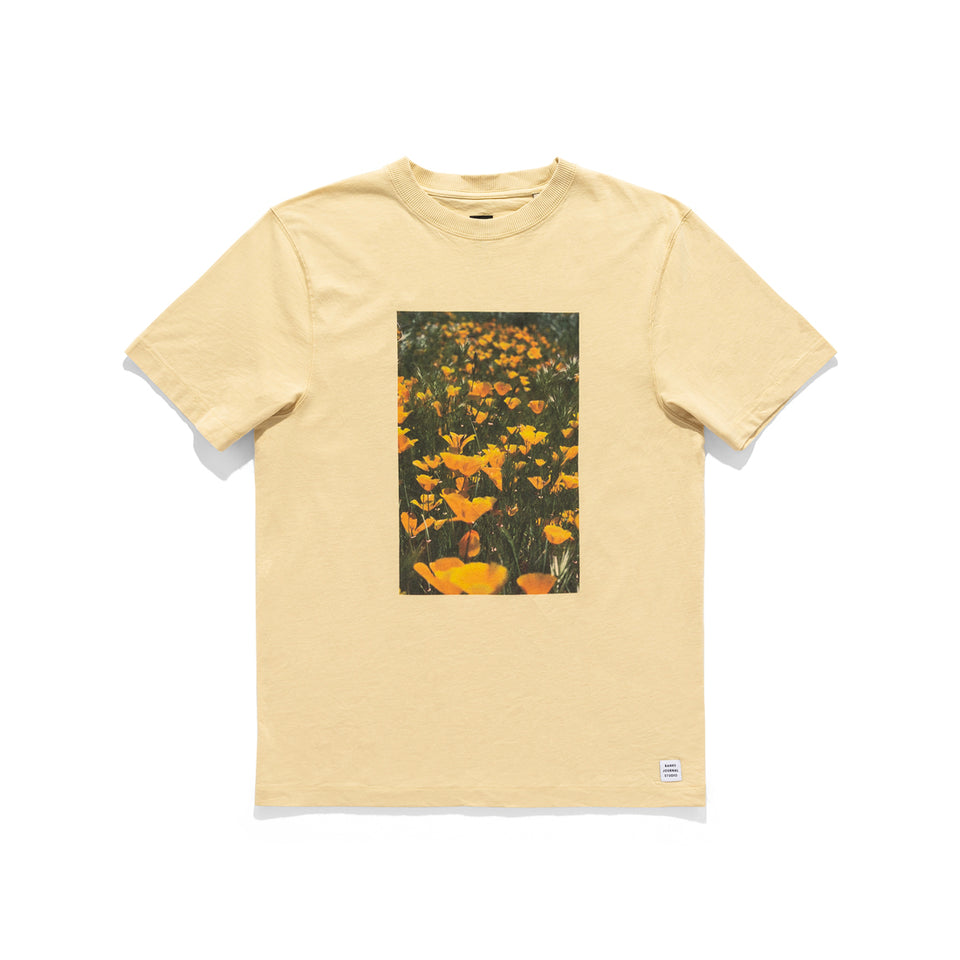 Zak Bush Flowers Tee - marsclothing