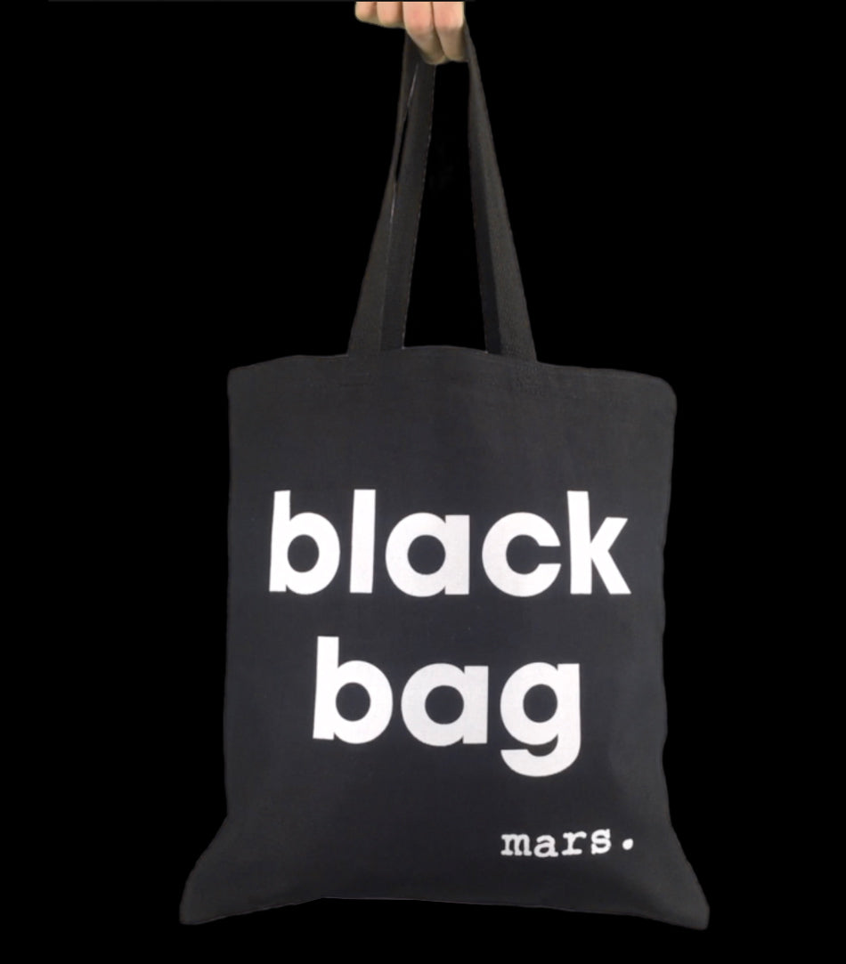 Black Bag - marsclothing