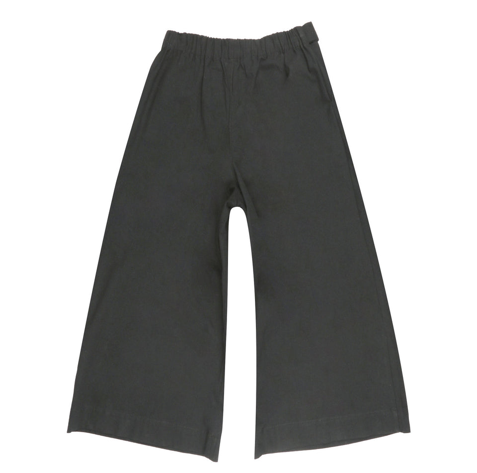 Wide Pant Rinsed Oxford Charcoal