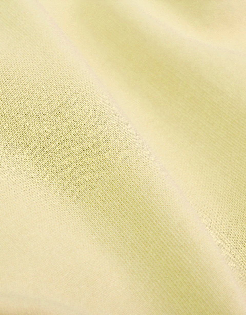 Organic Tee Soft Yellow - marsclothing