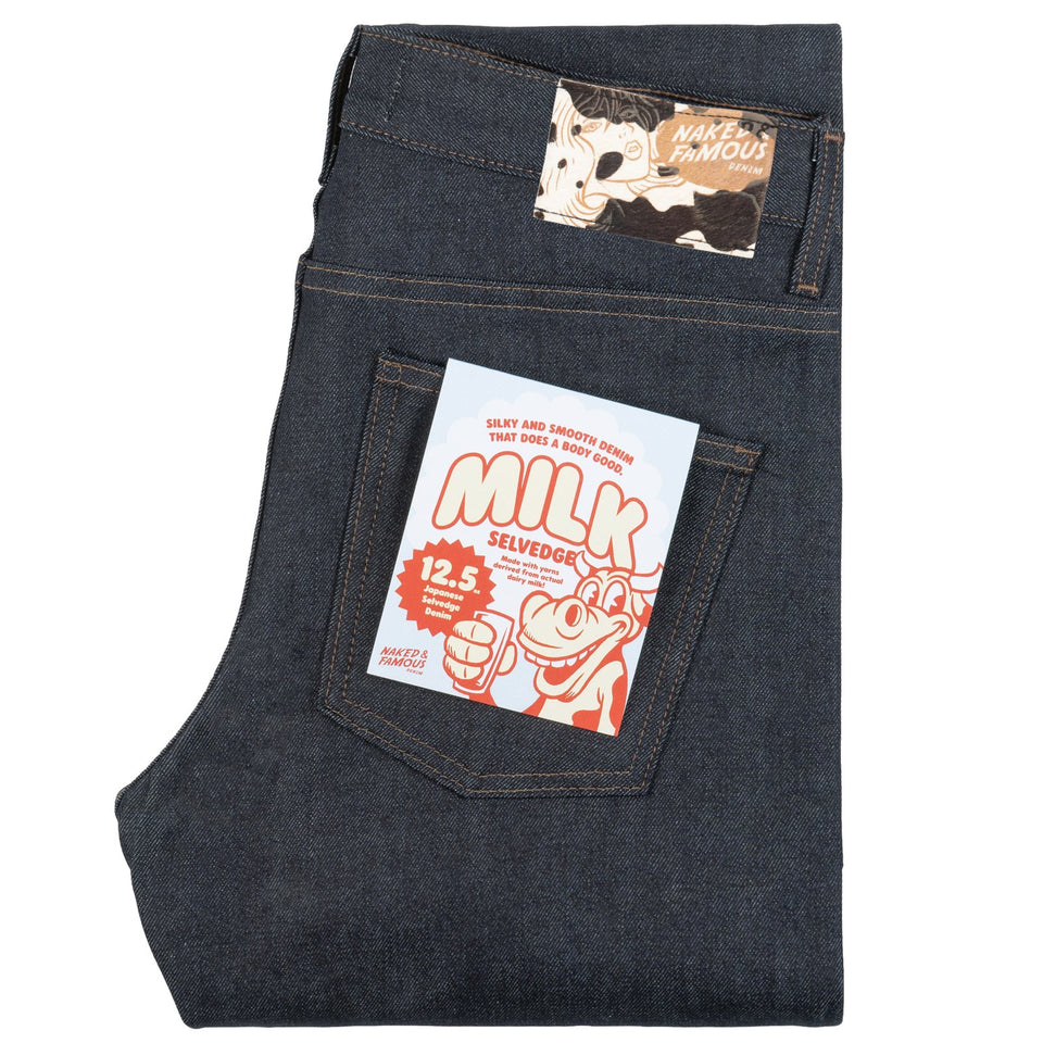 Super Guy Milk Selvedge - marsclothing