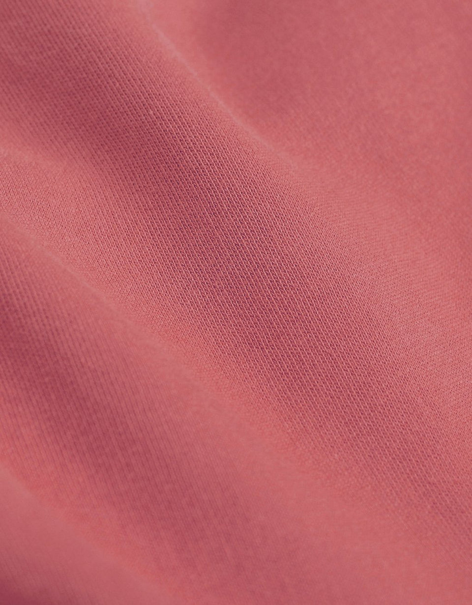 Light Organic Tee Raspberry Pink