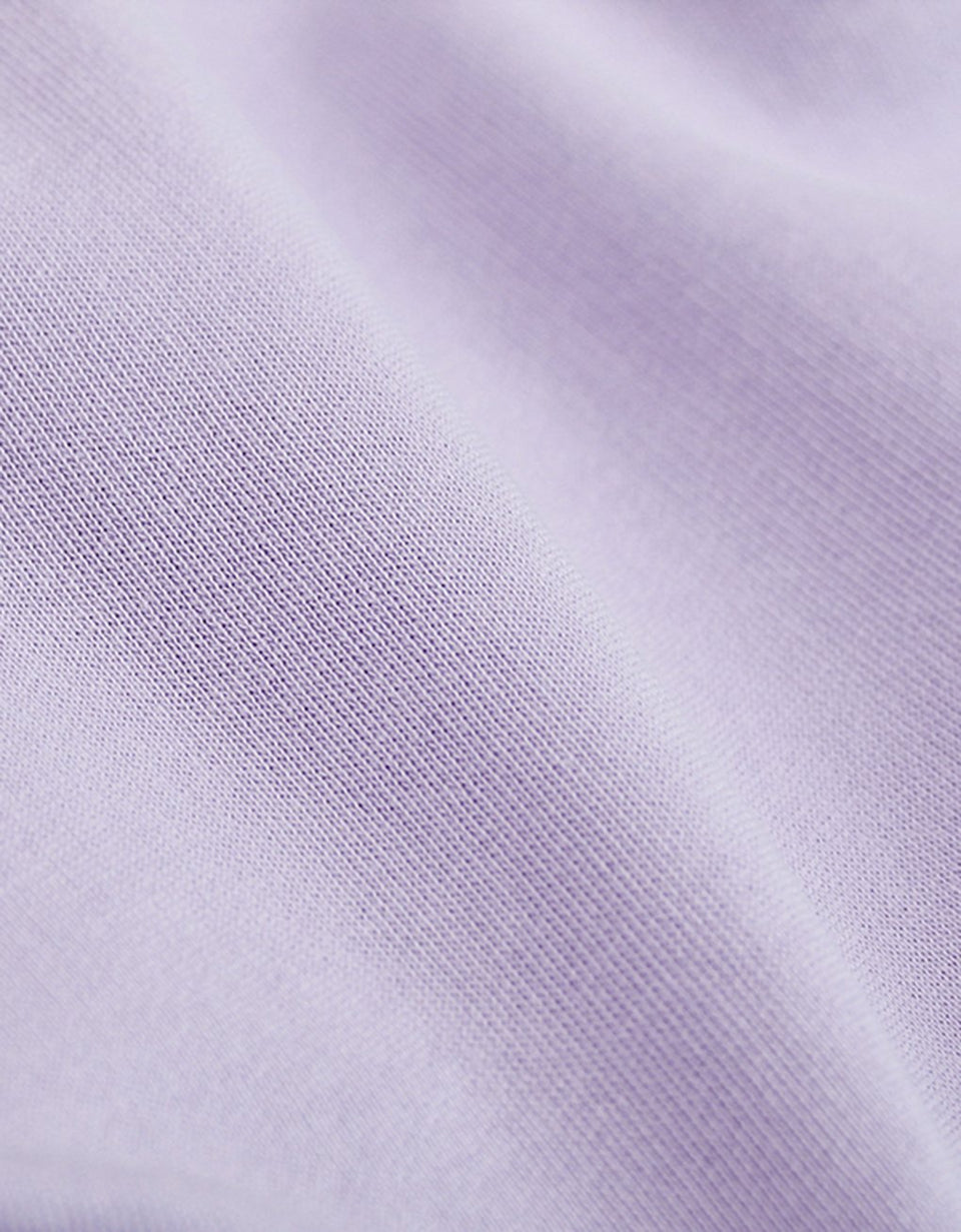 Light Organic Tee Soft Lavendar