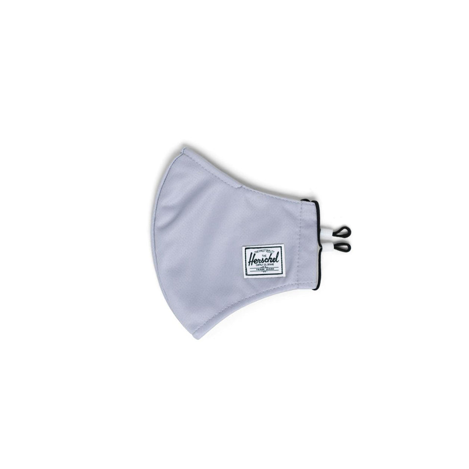 Classic Fitted Face Mask Light Grey - marsclothing