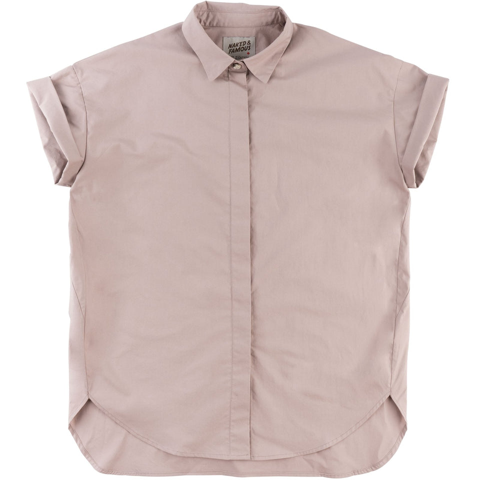 Bubble Blouse Blush - marsclothing