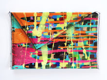 Hand Painted Medium Clutch Bag