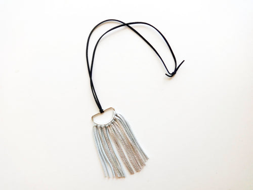 The Gaby Round Tassel Necklace