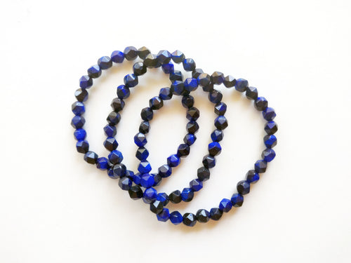 Deep Blue Stacker Bracelet