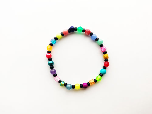 Christmas Lights Stacker Bracelet