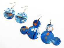 Deep Like The Ocean Art Earring Collection