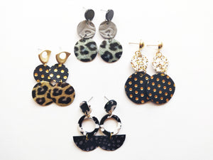 OOAK Silver & Gold Earring Collection