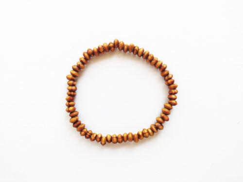 Natural Wood Stacker Bracelet