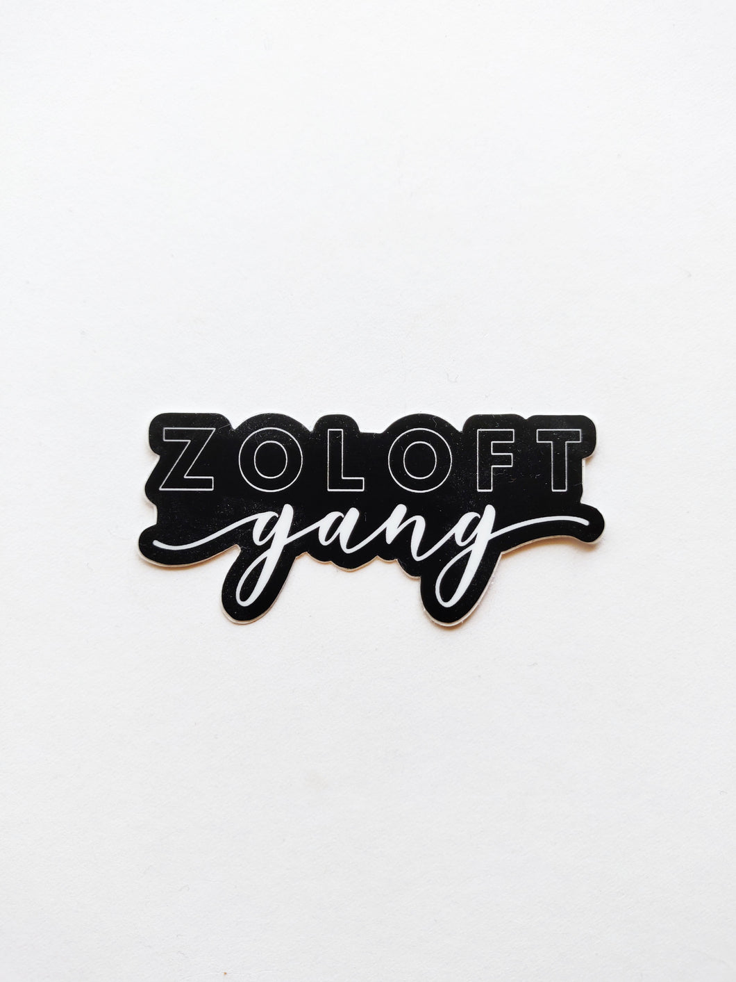 Zoloft Gang Vinyl Sticker
