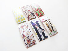 Large Novelty Print Snap Clips