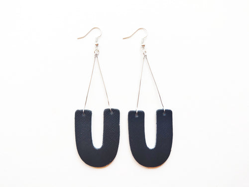 The You Swing Genuine Leather Earring