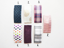 Large Stripes and Spots Snap Clips