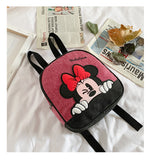 Mochila Escolar Mickey / Minnie Mouse