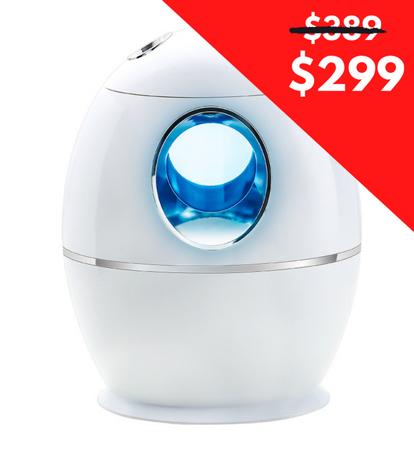Humidificador difusor aromaterapia ultrasónico con luz led (800ml)