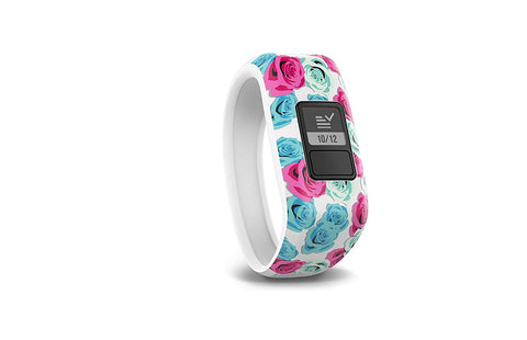 Garmin vívofit jr, Kids Fitness/Activity Tracker, 1year Battery Life, Real Flower - beyondtrendi