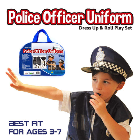 Baby dress up clothes Cop costume - beyondtrendi