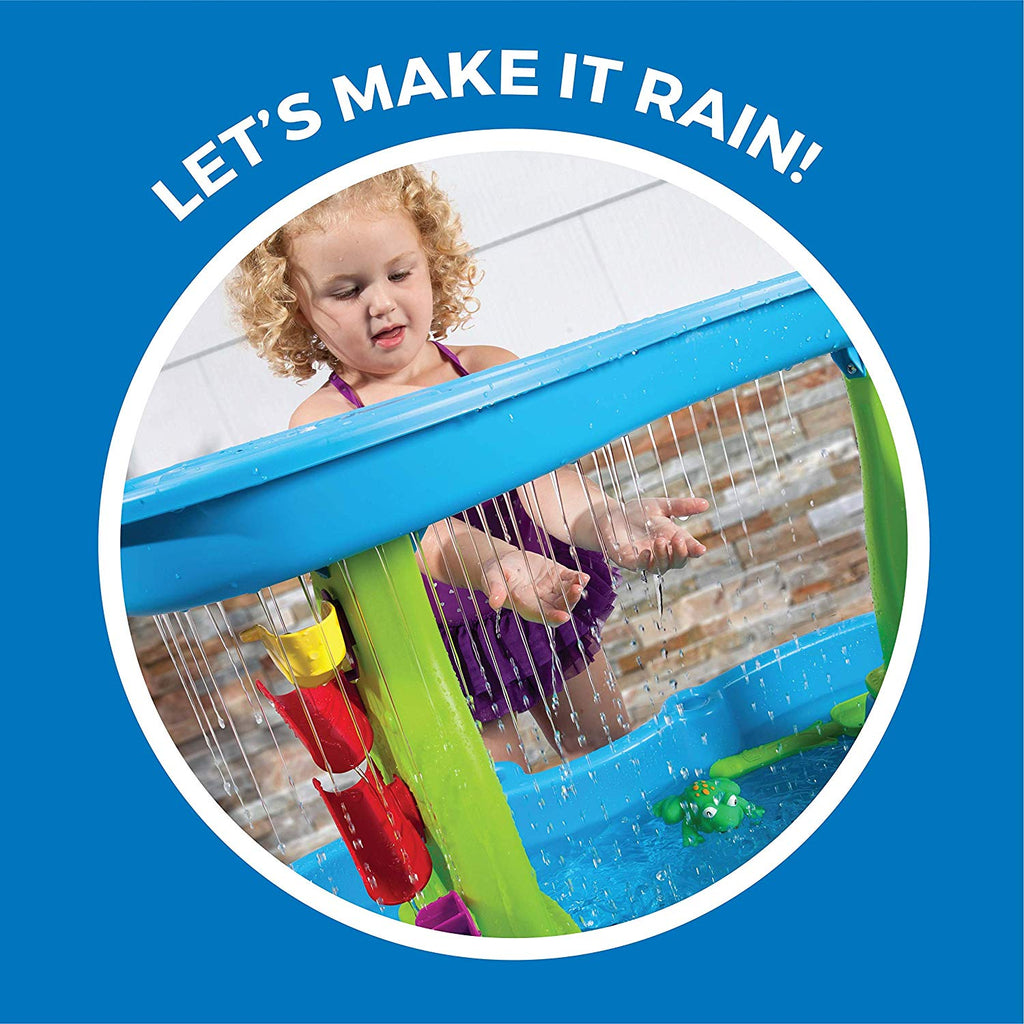 Step2 Rain Showers Splash Pond Water Table | Kids Water Play Table with 13-Pc Accessory Set - beyondtrendi