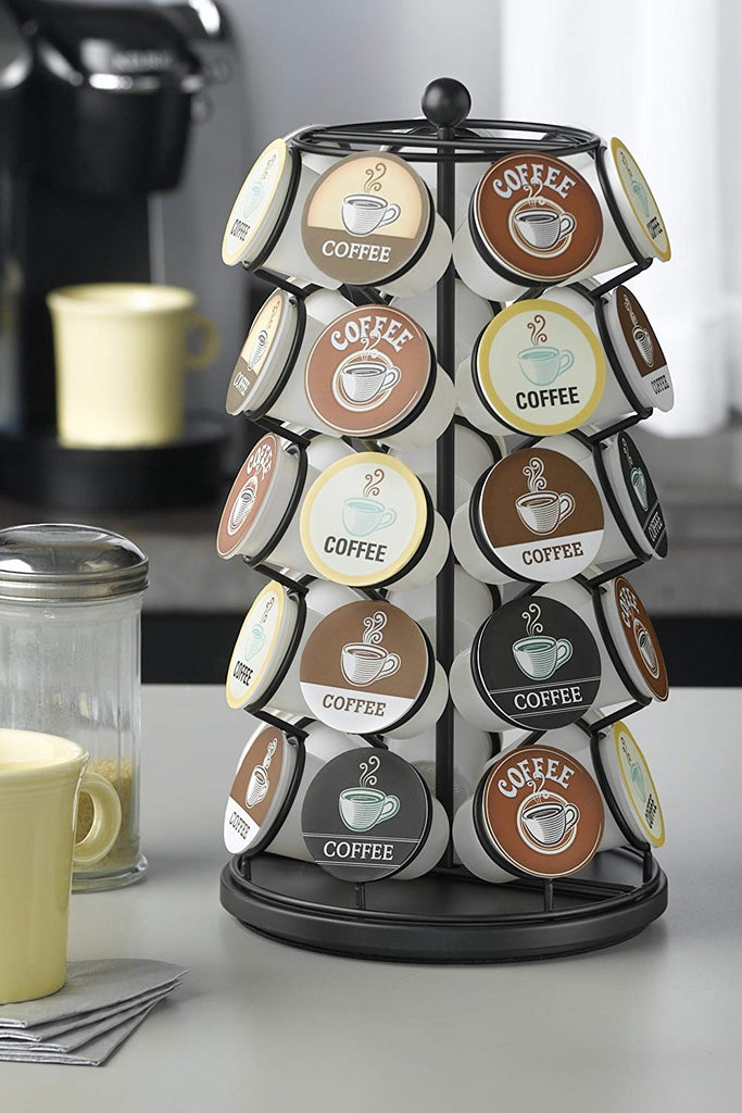 K-Cup Carousel - Holds 35 K-Cups in Black - beyondtrendi