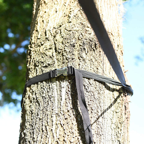 LAMURO Campsite or Garden Supplies Storage Strap with 8 Hooks | Hanging Your Camping Gear from a Tree | Vertical or Horizontal Organizer - beyondtrendi
