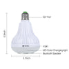 Image of SMART LIGHT BULB WIRELESS BLUETOOTH SPEAKER - beyondtrendi