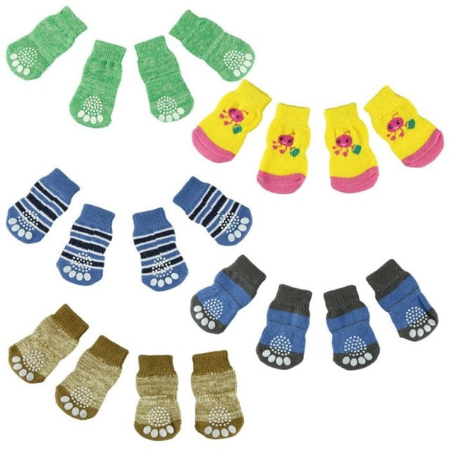 Pet Knits Anti Slip Skid Bottom socks - beyondtrendi