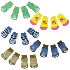 Pet Knits Anti Slip Skid Bottom socks