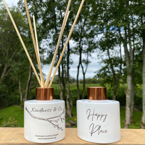 Happy Place Diffuser - Lemongrass & Ginger