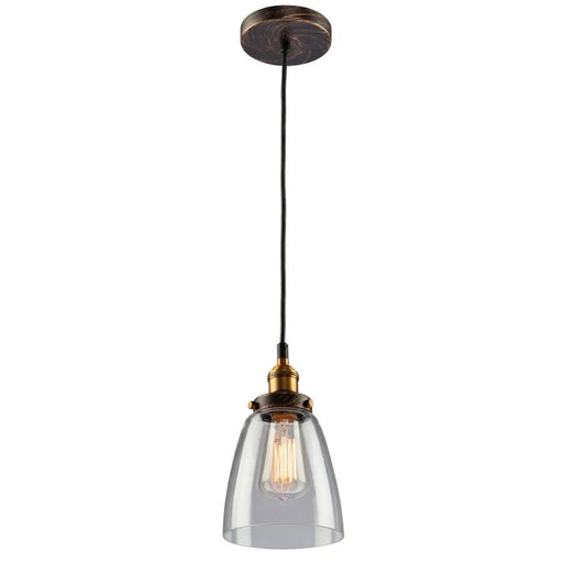 Artcraft Greenwich Pendant, Bronze Copper