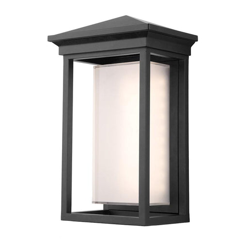 Artcraft Overbrook 1 Light Outdoor Sconce in Black