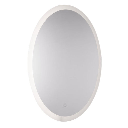 Artcraft Reflections 1 Light Mirror, Frosted Edge - AM318
